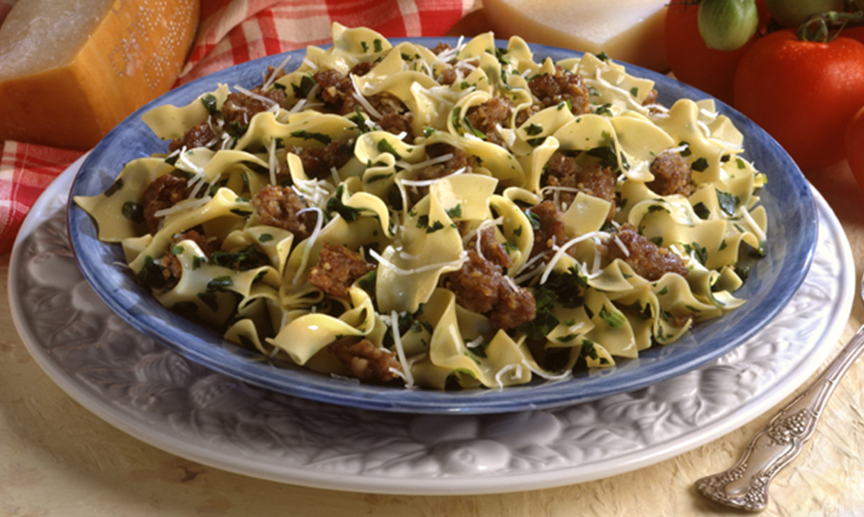 Italian Pasta Florentine