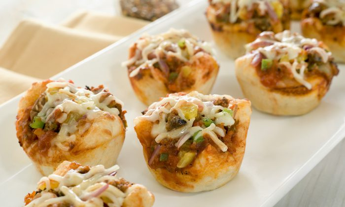Muffin Pan Pizzas