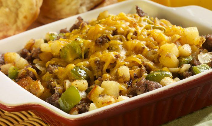 Sausage & Potato Breakfast Skillet