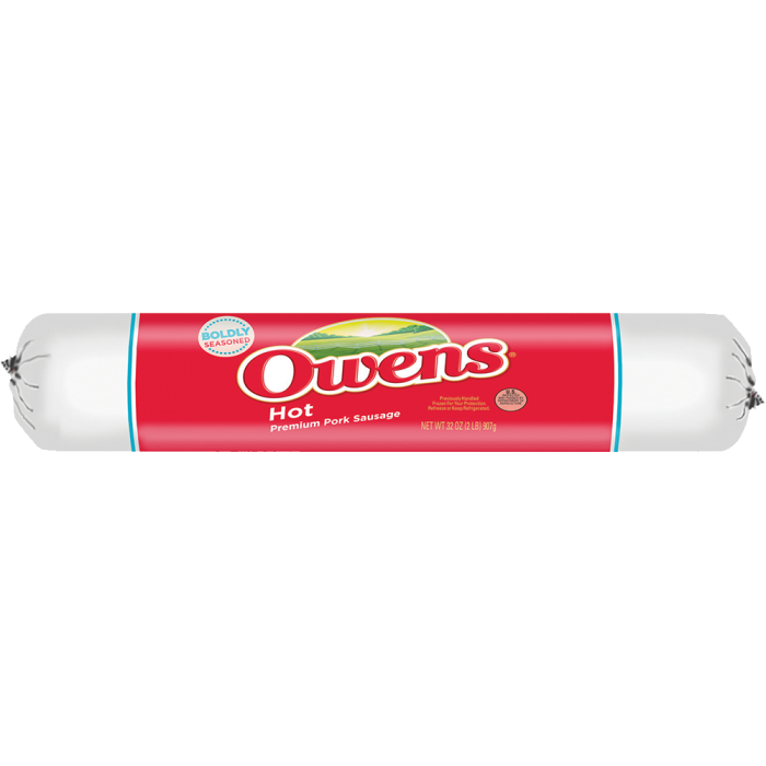 Owens® Hot Sausage 32 oz