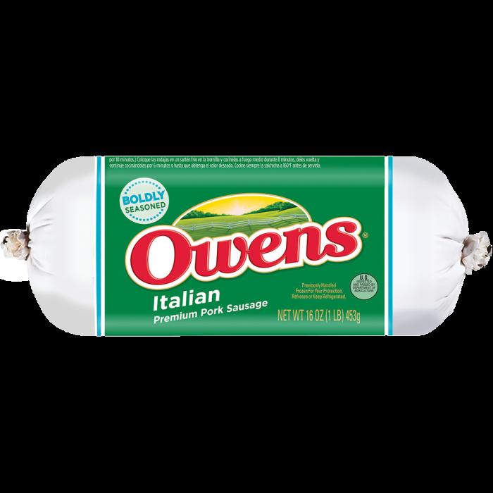 Owens® Pork Italian Sausage 16 oz