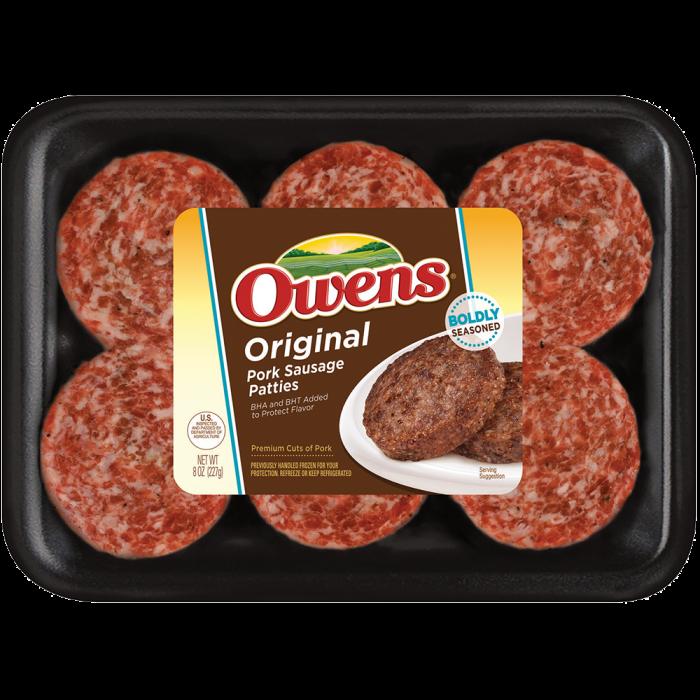 Owens® Original Sausage 8 oz
